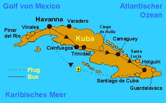Havanna Kuba Karte.Matthias Weisser S Höhepunkte Kubas Erlebnisse Einer Rundreise